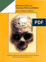 ACCEFVN AC Spa 2012 Intrducción a Ala Paleopatología Precolombina.