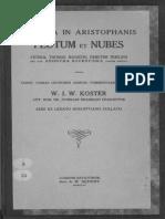 Koster, Scholia in Aristophanis Plutum Et Nubes Vetera (1927)