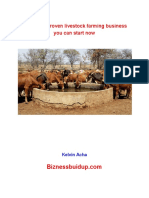 Guide to 7 Proven Livestock Farming Business You Can Start Now PDF