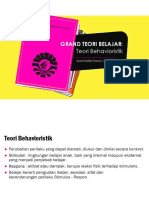 PPT Teori Behavioristik