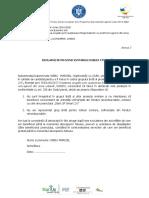 Anexa 2 - Decl. evitarea dubla finantare.doc