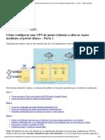 Cómo Configurar Una VPN 1