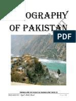 Topography of Pakistan (1)