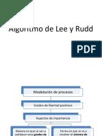 Algoritmo de Lee y Rudd