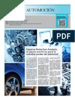Optimizando Costes Especial Sector Automoción
