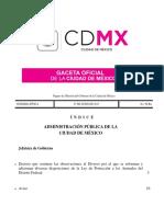 Gaceta Oficial CDMX 27 Jun 2017