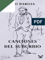 Baroja, Pio - Canciones Del Suburbio [47023] (r1.0)