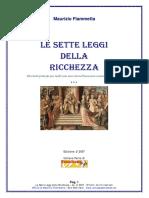 Maurizio Fiammetta - Le Sette Leggi Della Ricchezza