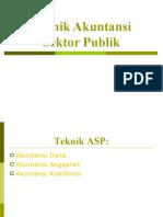 Teknik Akuntansi Sektor Publik