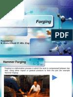 8. Forging