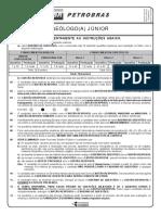 Prova Petrobras Geólogo 2018