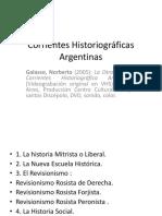 Corrientes Historiográficas Argentinas.pptx