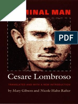 Cesare Lombroso Criminal Man Duke University Press 2006