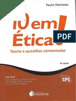 10 Em Ética! - Paulo Machado (2017)