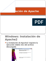 Resumen Instalacion de Apache