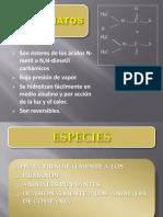 Toxicología de Plaguicidas Carbamatos