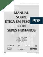Manual Sobre Ética Em Pesquisa Envolvendo Seres Humanos