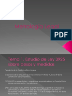 Metrologia Legal Presentacion