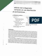 Estadistica medidas de dispersion