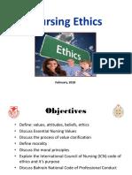Nursing Ethics 2018