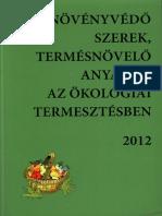 Növényvédo szerek, termésnövelő anyagok az ökológiai termesztésben 2012.pdf