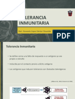 Tolerancia Inmunitaria