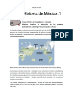 Clase-1A -México Prehispánico y Colonial