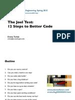 The Joel Test