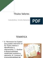 Titulos Valores Clase 2