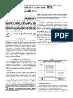 Como preparar un artículo en formato IEEE