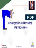 Investigación de mercados internacionales