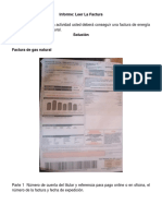 Actividad 3 Informe Leer La Factura