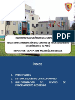 16 Maguina 2013 Centro Procesamiento IGN Peru