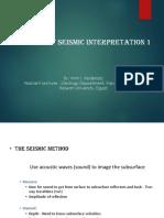 Basics of Seismic Interpretatation 1