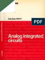 Databook - Siemens - Analog Integrated Circuits - 1976