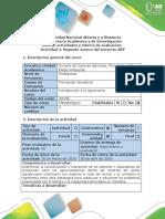 Guía de Actividades y Rúbrica de Evaluación - Actividad 4 - Segundo Avance Del Proyecto ABP