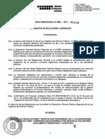 158 Mrl 2011 Compensación Económica Por Renuncia Voluntaria1