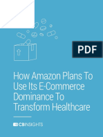 CB Insights Amazon Strategy Healthcare