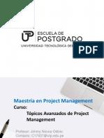 Topicos Avanzados de Project Management 4