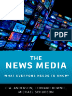 (What Everyone Needs to Know) Anderson, C. W._ Downie, Leonard_ Schudson, Michael-The News Media_ What Everyone Needs to Know-Oxford University Press (2016)