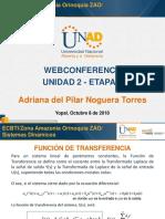 Webconferencia Etapa 2