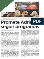 08-12-18 Promete Adrián seguir programas