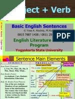 0A Intro- Basic Sentences