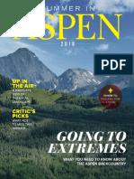 Summer in Aspen 2018