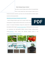 What Is Biological Organic Fertilizer.docx