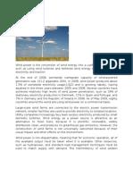 CBL Wind Power Genrate Comp.