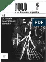 La Novela Experimental -  Marechal