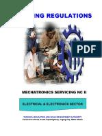 TR-Mechatronics Servicing NC II 11-16-2018
