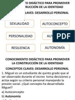 SESIÓN de APRENDIZA de Personal Sexta Unidda 2018
