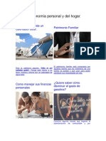 economía personal y hogar